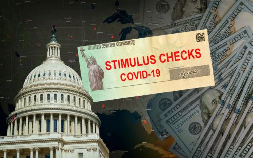 Stimulus Bill government US 100 dollar bills