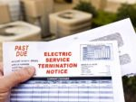 late utility bill shut off notice
